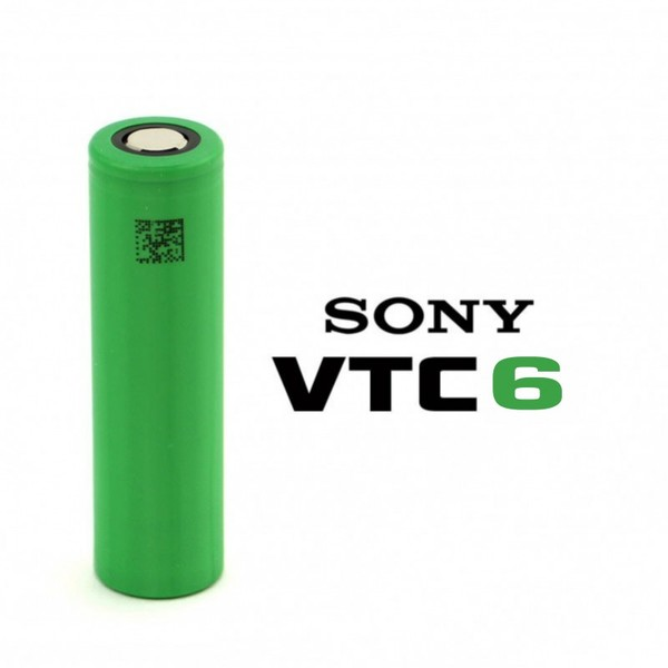 Sony 18650 VTC6 3000mAh 12C 30A High-drain батерия