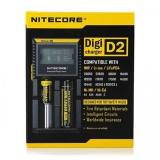 Зарядно Nitecore Intellicharger D2 с LCD дисплей