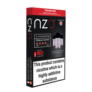 NZO ANISSED BERRY MENTHOL  20mg salt 3x1.7ml