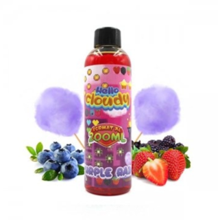 Безникотинова течност Hello Cloudy - Purple Rain 200ml